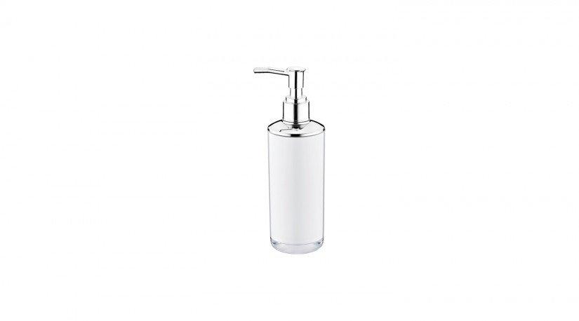 Çift Baskılı Yuvarlak Sıvı Sabunluk Metalize